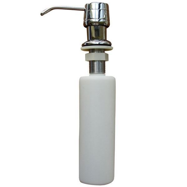 Refillable kitchen sink soap dispenser pump lotion ebay - Kitchen sink soap pump ...