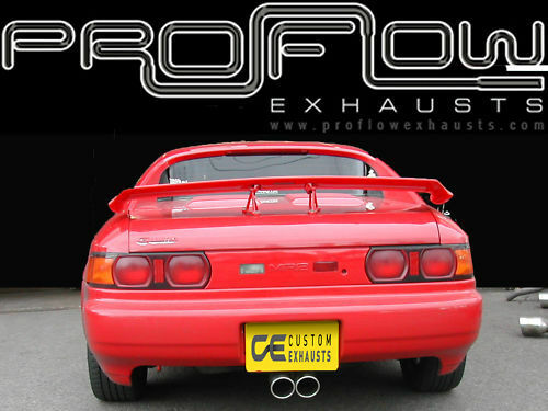 Toyota Mr2 Stainless Steel Custom Exhaust Back Box Twin Tail Pipe