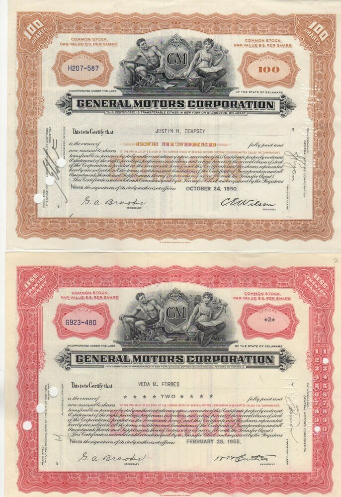 set of 2 general motors corporation ebay. Cars Review. Best American Auto & Cars Review