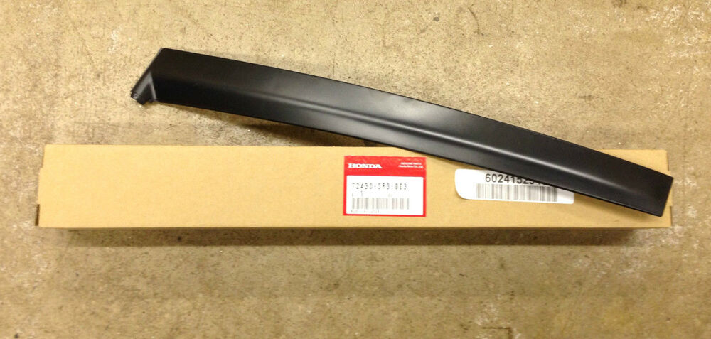 genuine oem honda civic 2dr 3dr passenger side door pillar
