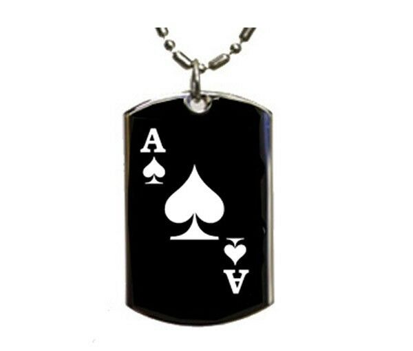 of spades jewelry ace of spades tag pendant necklace ebay 2344