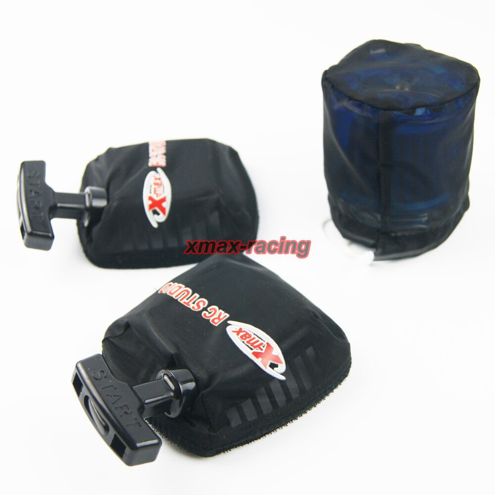 Dust Air Cleaner Cover : Rovan air filter pull starter dust covers outwares fit hpi
