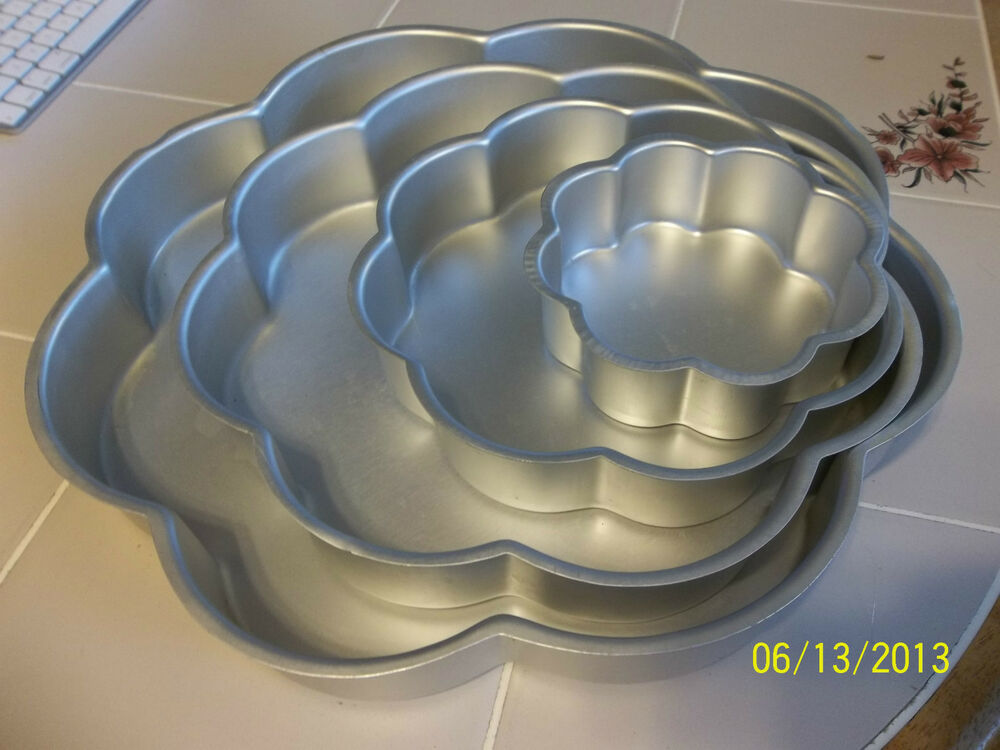 performance wedding tier petal pan flower cake set 502 2138 ebay