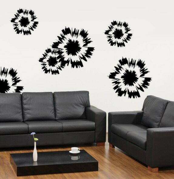 Wall Decor With Stencils : Blast wall art stencil large quality for
