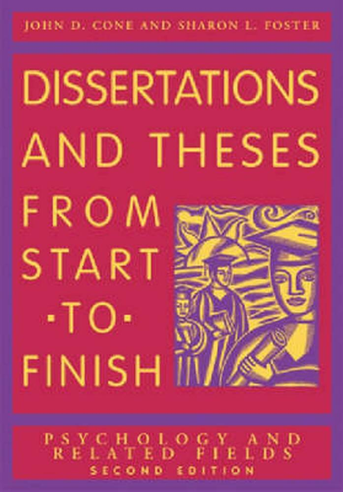 dissertations & theses from start to finish