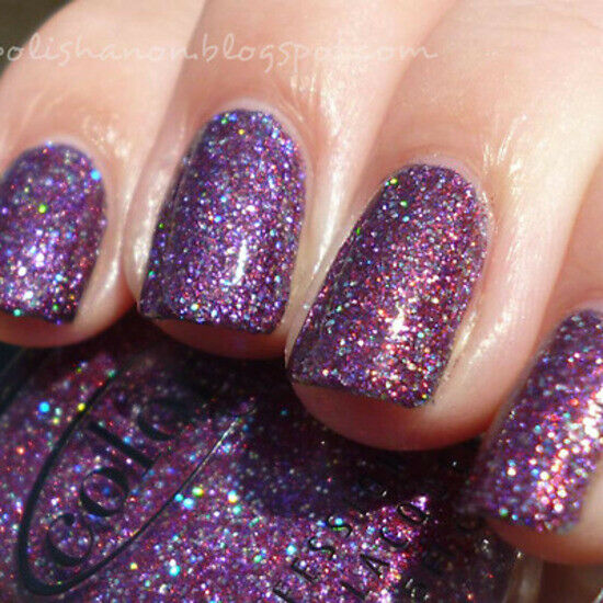 Shimmer And Sparkle Nail Polish