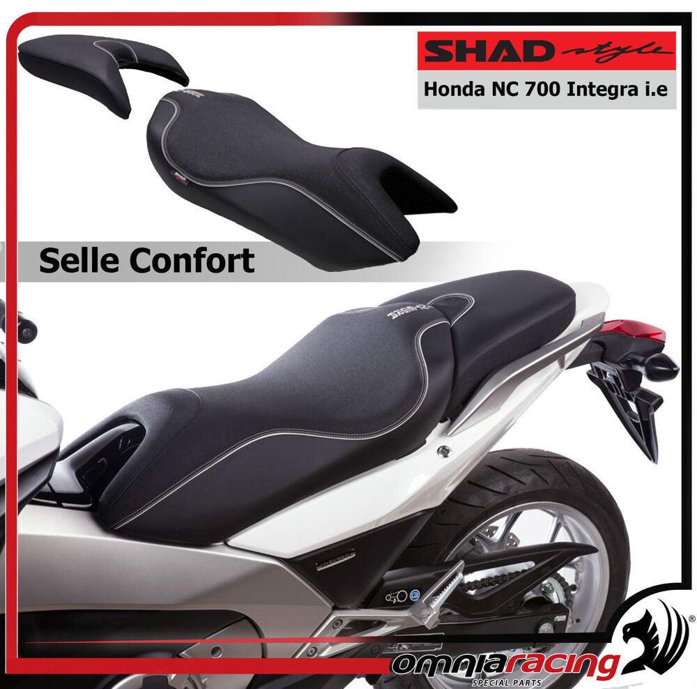 shad confort honda nc 700 integra 2012 sella 3d bielastic foam sellone seat ebay. Black Bedroom Furniture Sets. Home Design Ideas