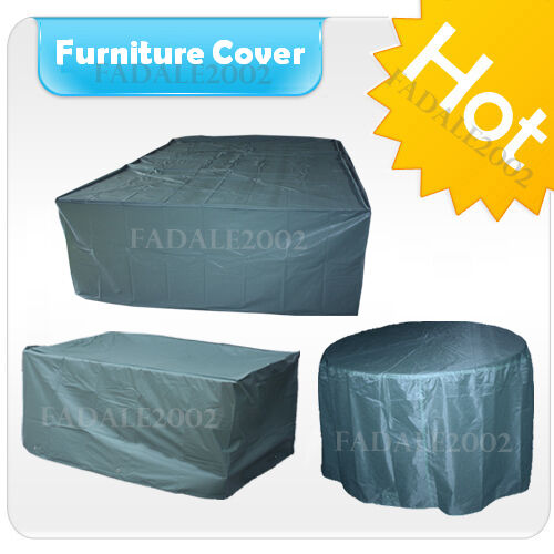 Garden Furniture Protector Covers: Waterproof Garden Furniture Cover Table Chairs Patio Set