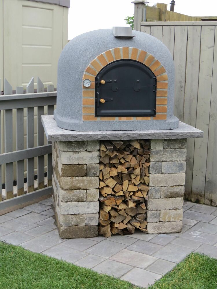 backyard wood fired oven 2