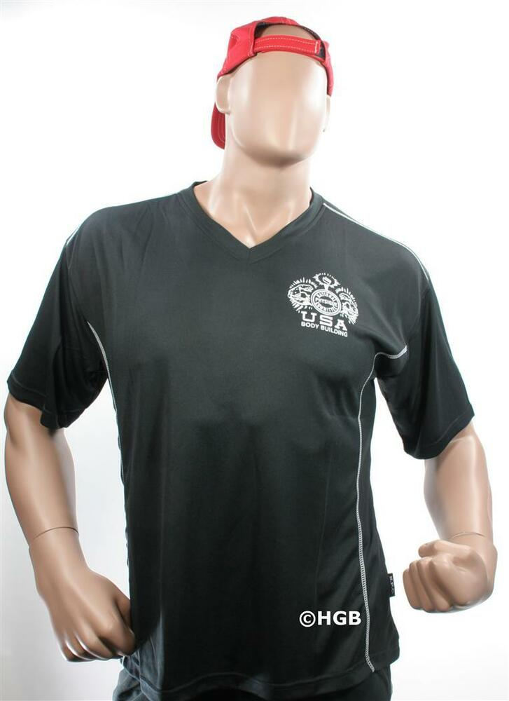 Mens Ribbed V Neck T Shirt