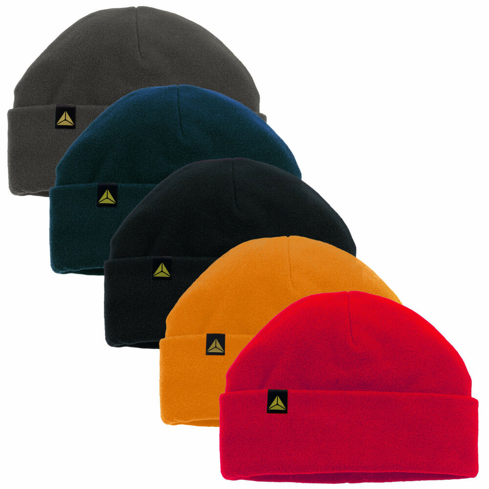 c383ad6bb36f5 Details about Delta Plus Panoply Kara Mens Winter 3M Thinsulate Fleece  Beanie Hat Beanies Hats