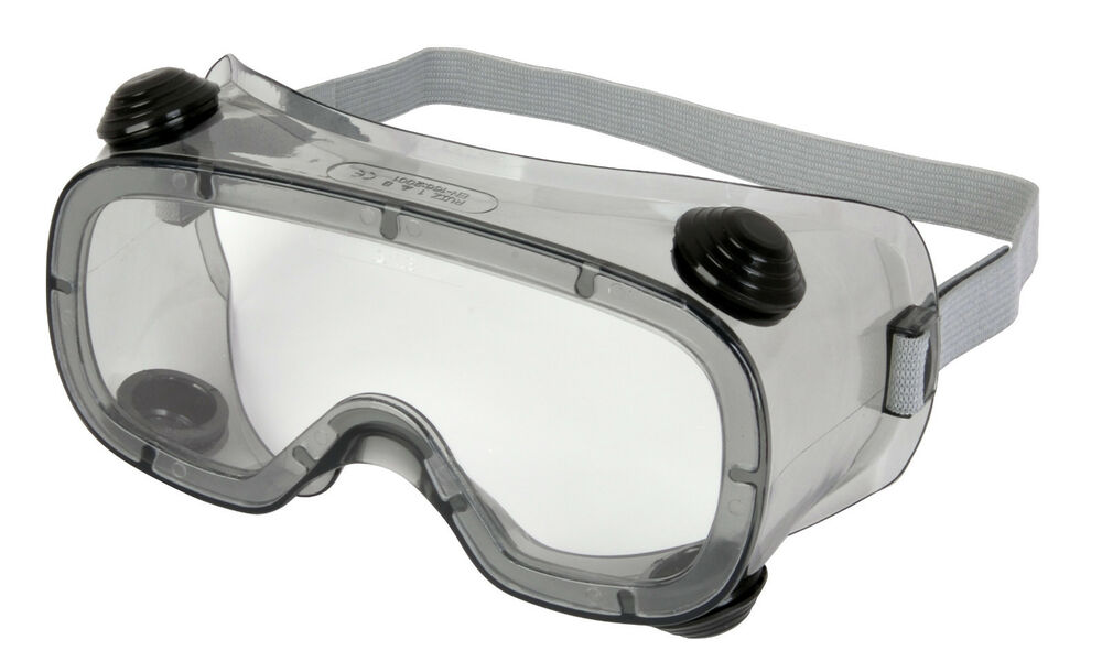ce7360d2287 Details about Delta Plus Venitex Ruiz 1 Clear PVC Safety Vented Goggles  Eyewear Eye Glasses