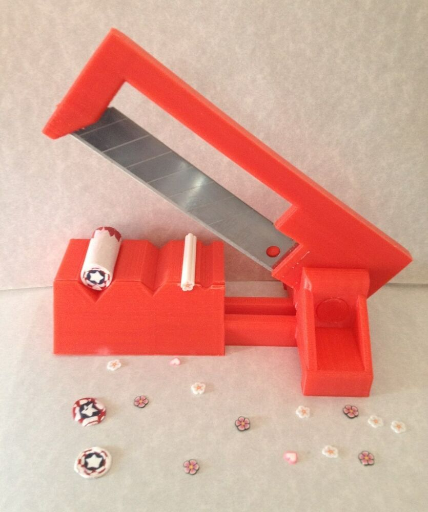 Polyslicer Red Fimo Cane Slicer Fimo Cane Cutter Fimo Nail Art Polymer Clay Ebay