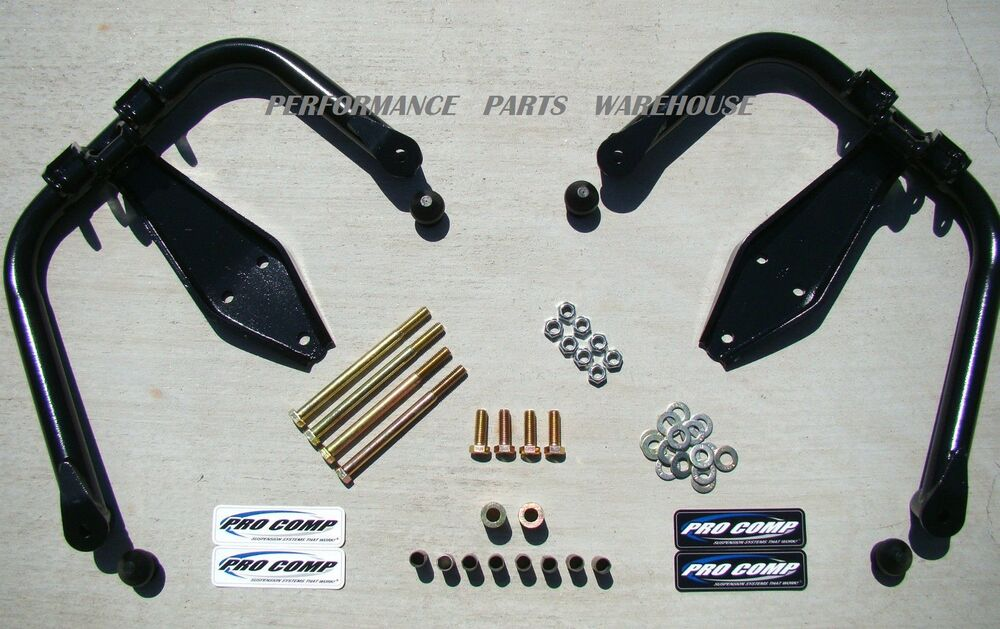 Pro Comp Lift Kit >> PRO-COMP DUAL SHOCK HOOPS 99-04 F250 F350 EXCURSION 4x4 LIFT | eBay