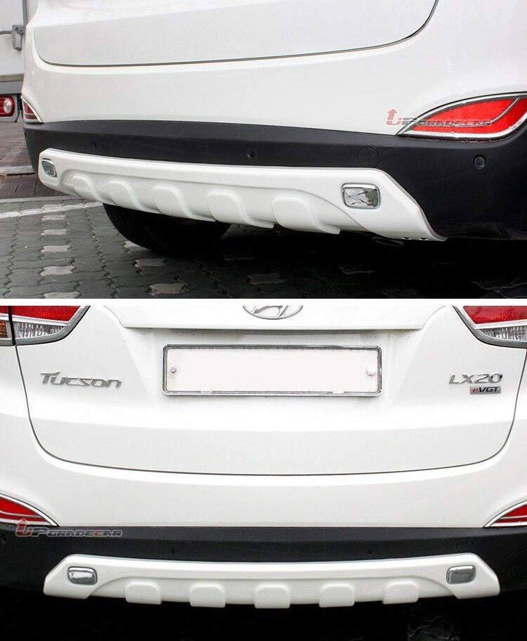 Tuning Face Rear Bumper Guard For Hyundai Tucson Ix 35