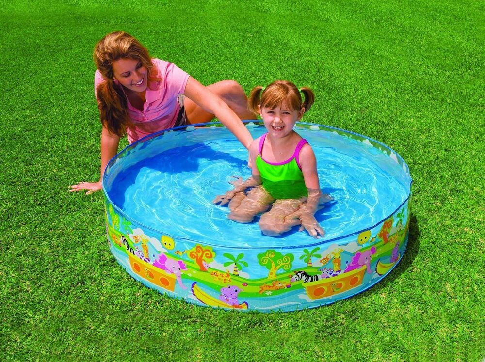 Bugs and Garden Baby Pool | Baby | Baby pool, Canopy ...