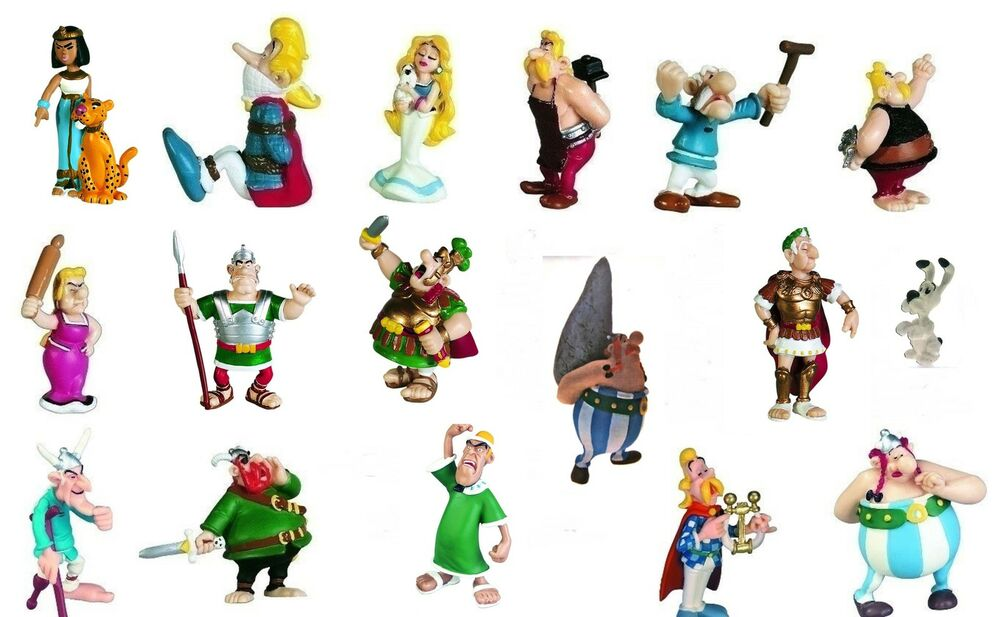 asterix und obelix figur figuren sammlung comic idefix serien konvolut neu ebay. Black Bedroom Furniture Sets. Home Design Ideas