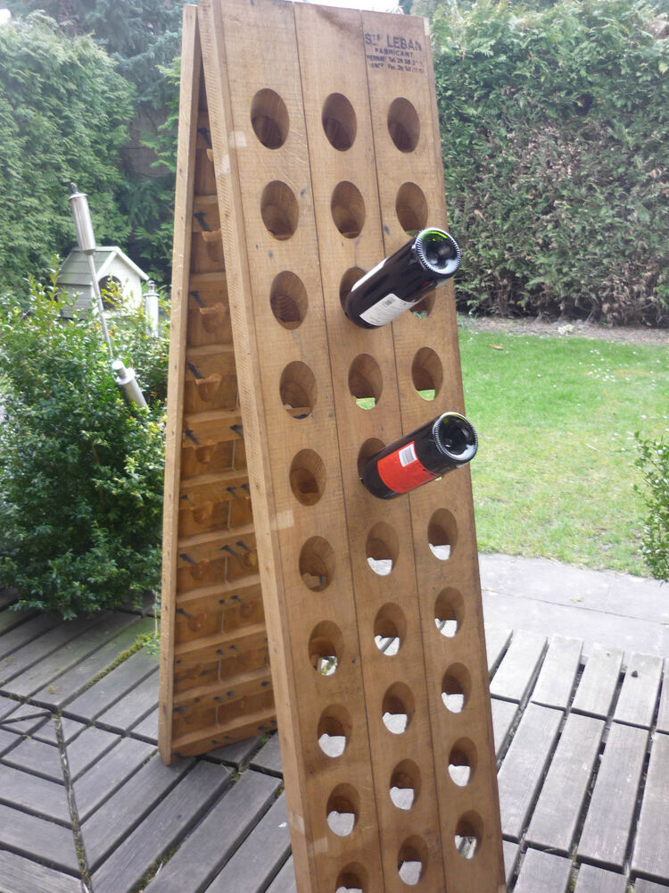 Exclusive Champagne Riddling Rack For 60 Wine Bottles With
