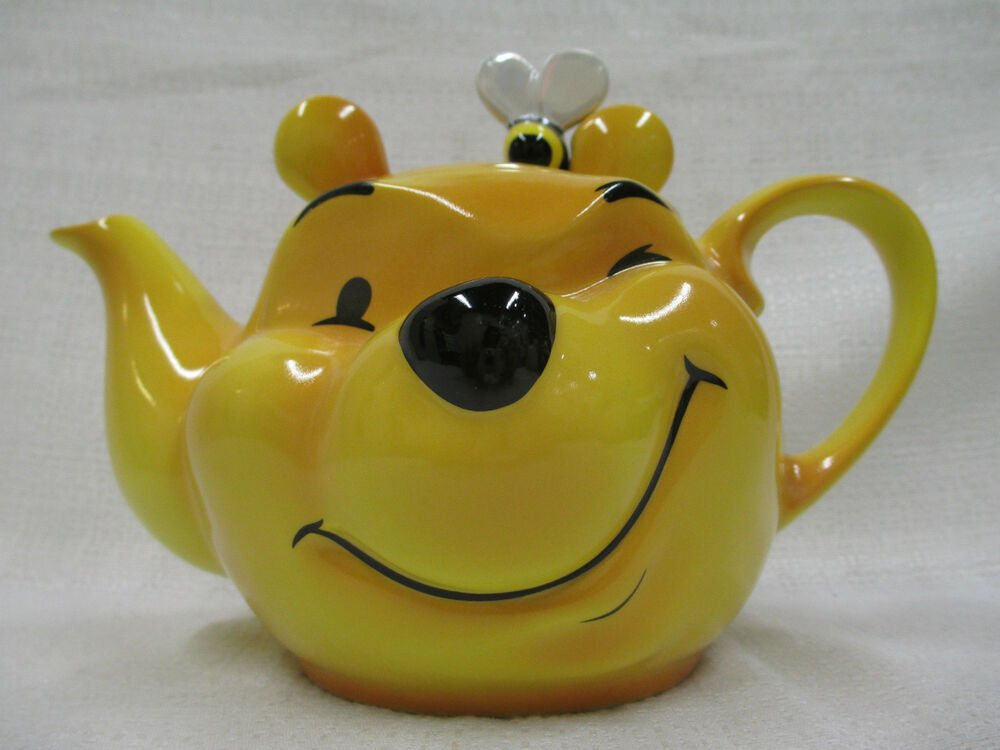 Walt Disney Character Teapot Collection Large Winnie The