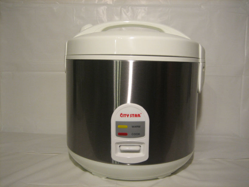4 Cups All Stainless Steel Rice Cooker Cr 40b Ebay
