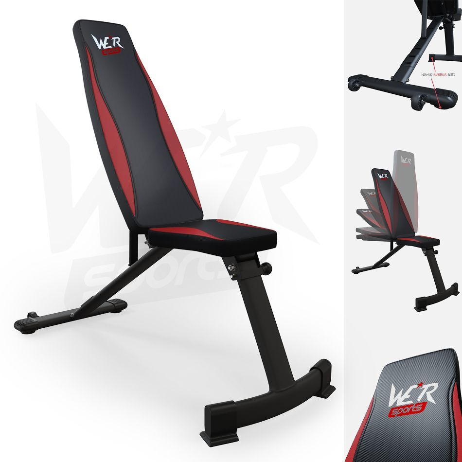 Weight Bench Flat Incline Decline Adjustable Bench Dumbbell Weight Lifting Bench Ebay
