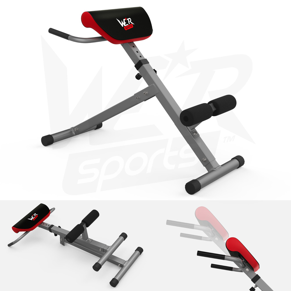 Back extension bench hyperextension roman chair hyper