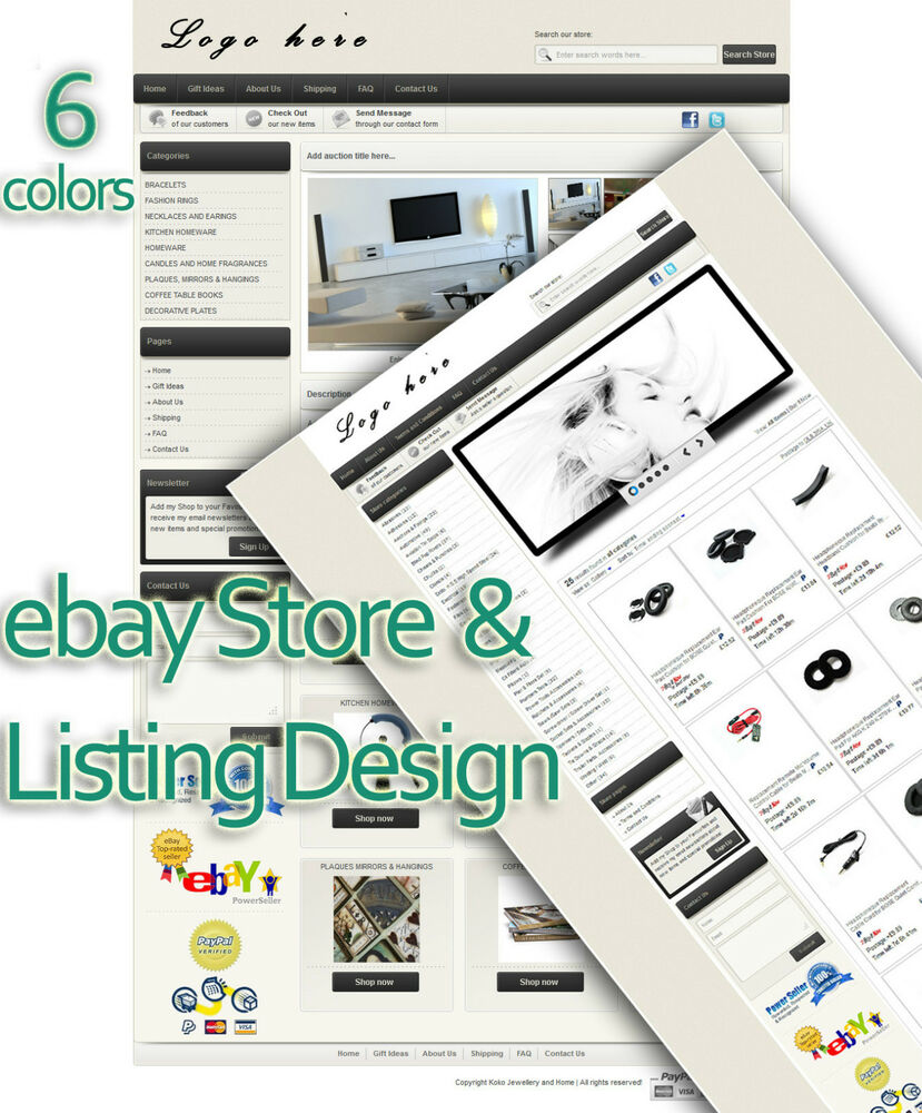 Ebay store design ebay shop design ebay listing template for Ebay store design templates free