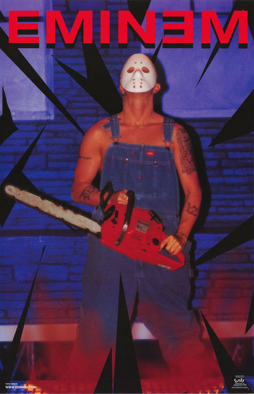 POSTER : MUSIC: EMINEM - CHAINSAW - FREE SHIPPING ! #6548 ...
