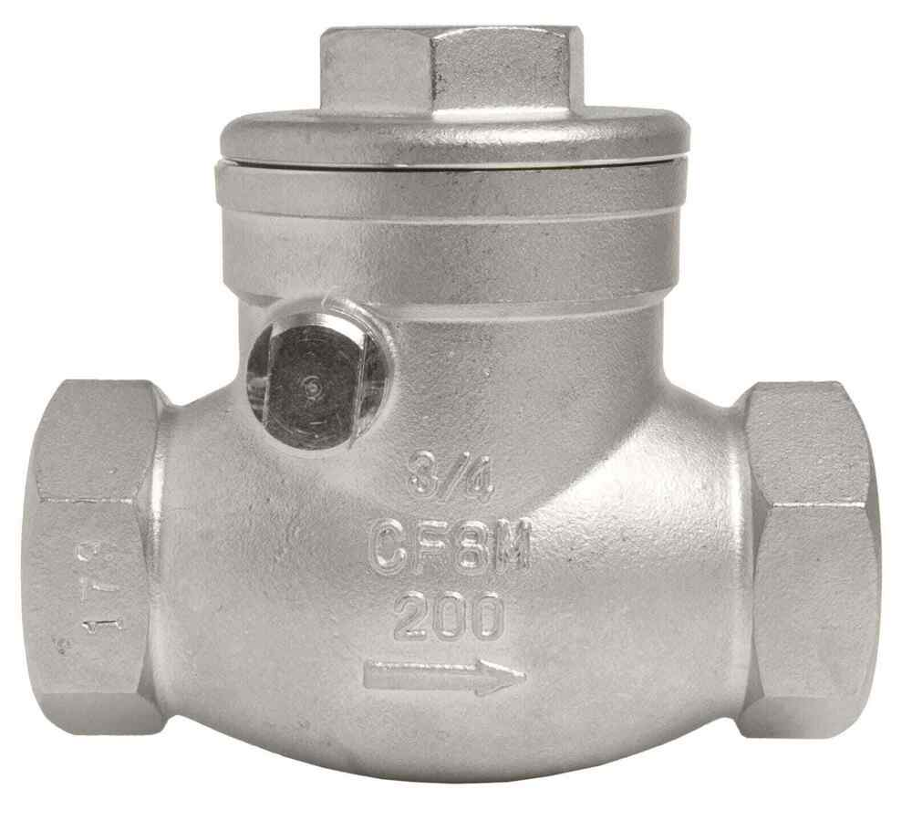 3 4 Quot Stainless Steel 316 Swing Check Valve 200wog Ebay