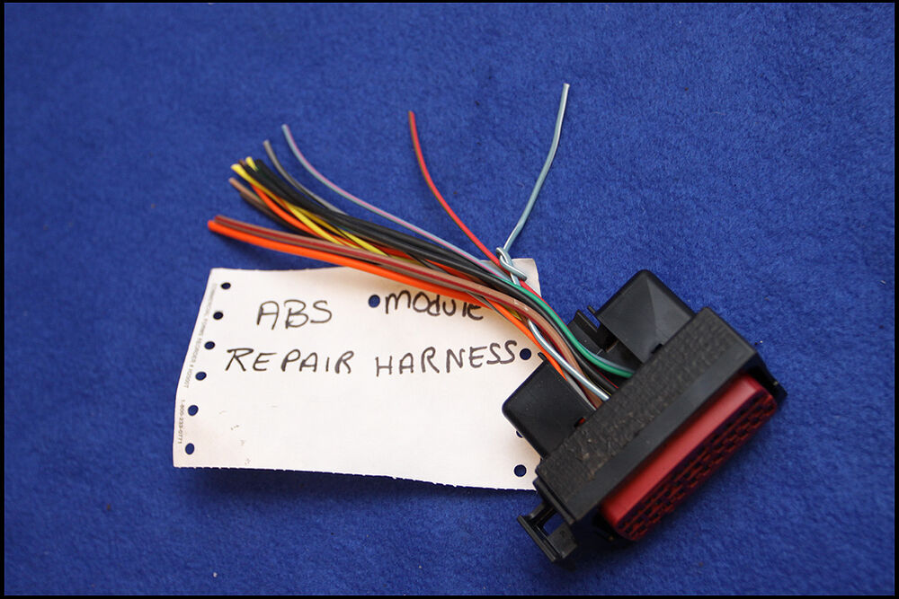96 97 98 ford mustang new oem abs module pigtail wiring harness ebay