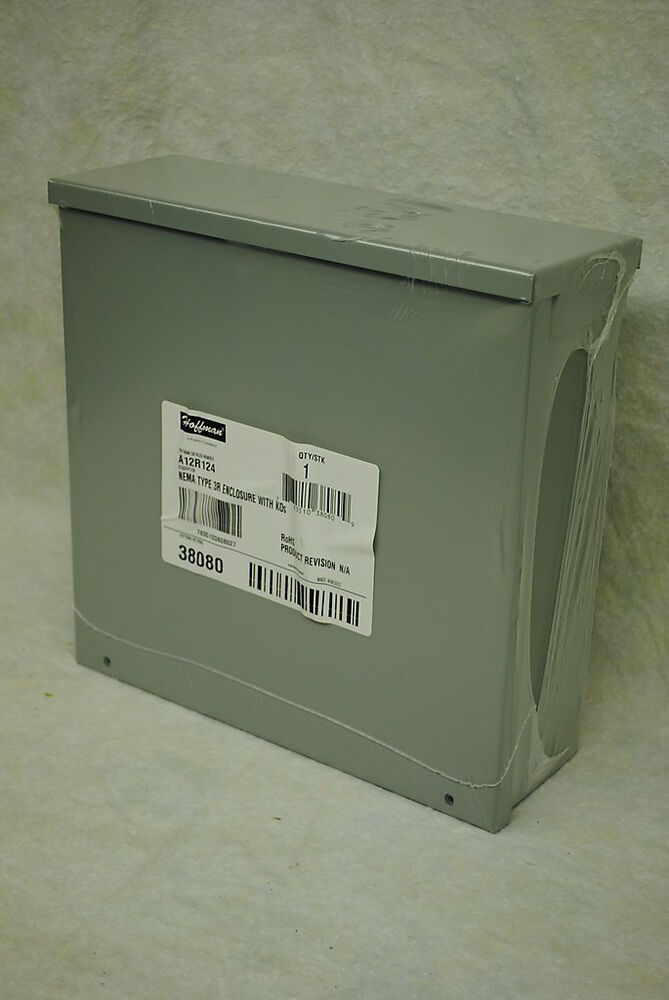 "Electrical Enclosure 12/"" x 12/"" x24/"" screw cover galv steel box"