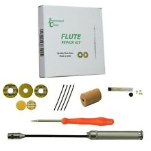 Instrument Clinic Flute Repair Kit, with Flute Washers, Screws, Leak Light!