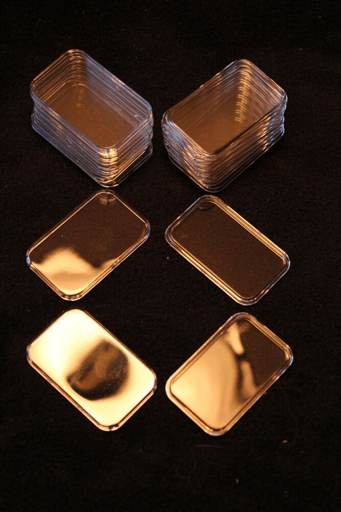 10 Airtite Holders Capsules For 1oz Silver Bars Air