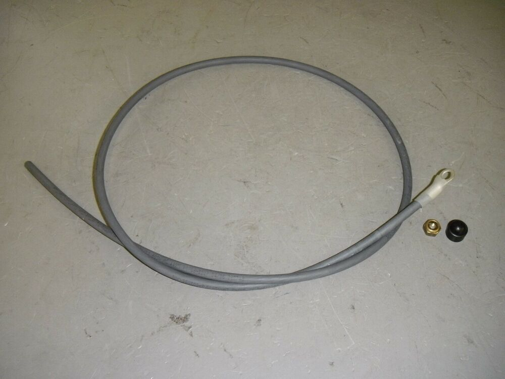 Insulated Battery Cable : Exane awg  gray insulated copper battery cable
