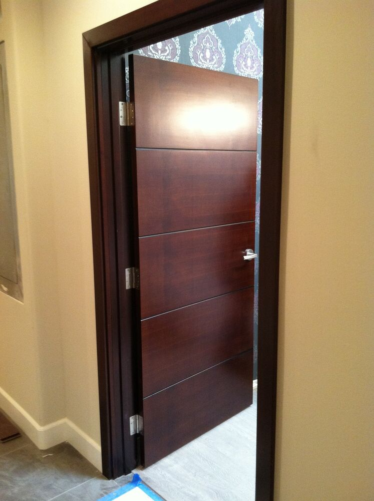 Walnut Interior Wood Door Package Ebay