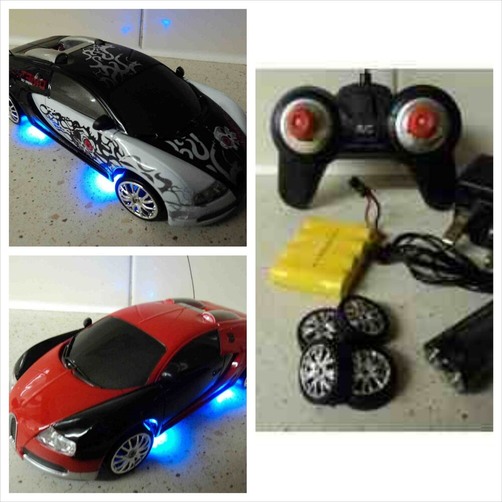 bugatti veyron style rc car electric rechargeable drift rc car 4wd 1 24 ebay. Black Bedroom Furniture Sets. Home Design Ideas