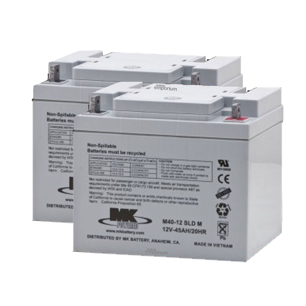 M Battery 2 x MK Powered Mobilit...