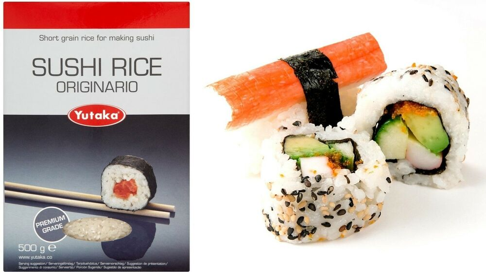 Yutaka Japanese Sushi Rice 500g - perfect for all Japanese dishes ...