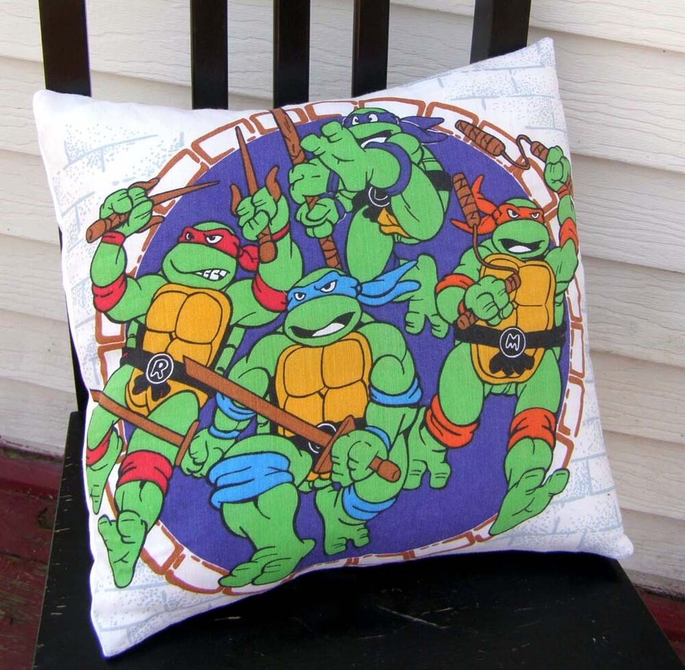 TEENAGE MUTANT NINJA TURTLES Pillow Case TMNT Pillowcase PURPLE Home ...