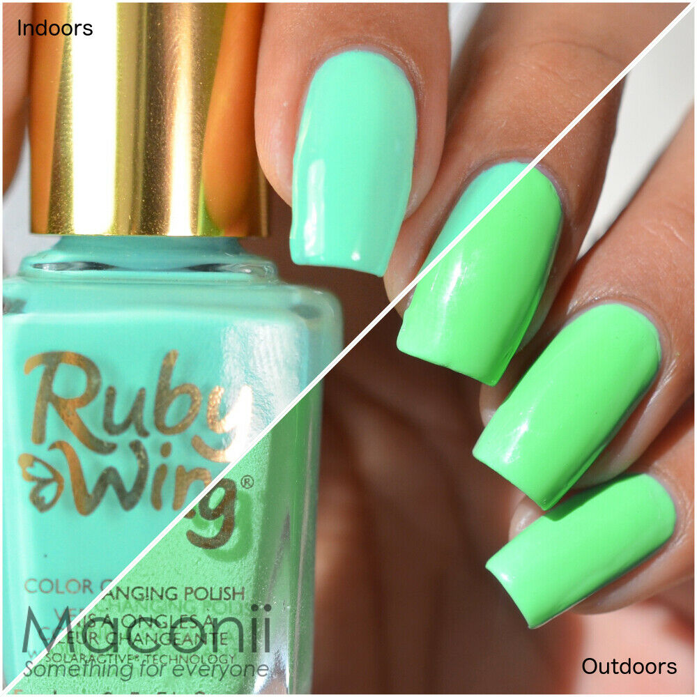 Ruby Wing - Gypsy - Mint Green Blue Lime Green Mood Color Changing ...