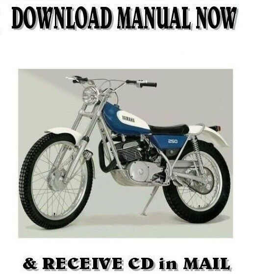 yamaha ty250 b c d trials 1975 1977 factory owner