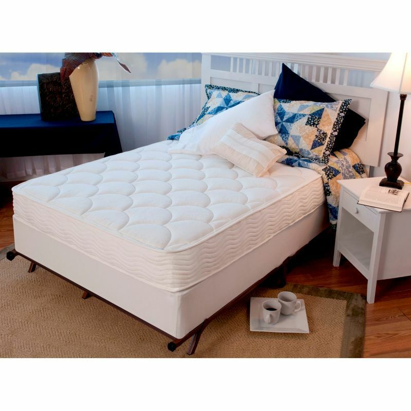 "Night Therapy iCoil 8"" Spring Mattress & Bi-Fold Box ..."
