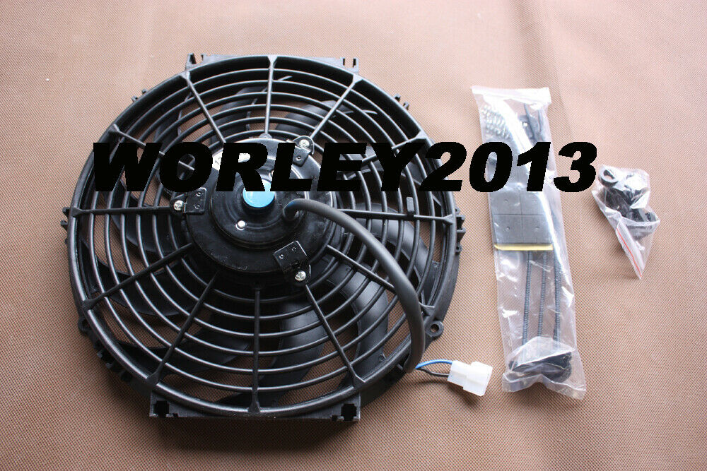 9 Inch 12v Volt Electric Cooling Fan Thermo Fan Mounting