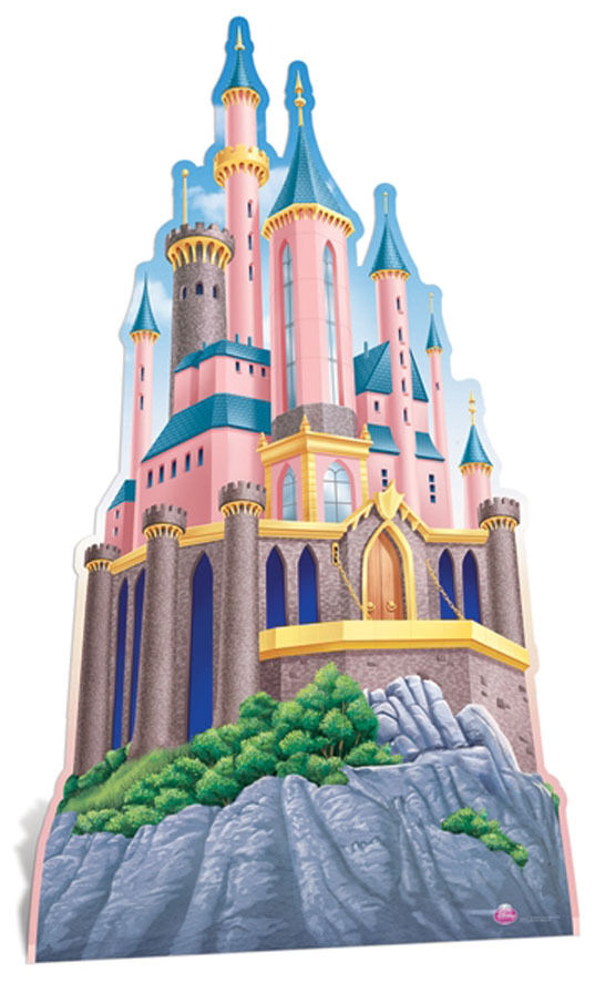 how to make princess castle with cardboard