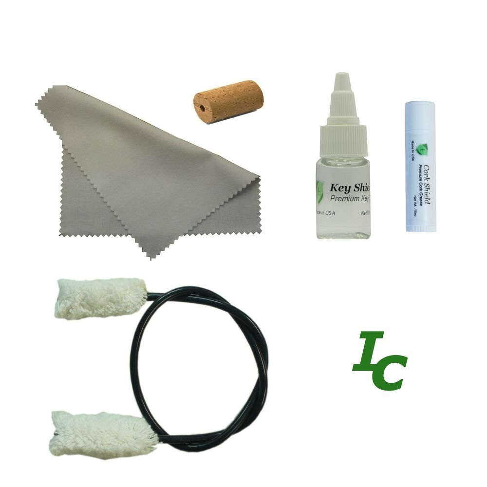 flute maintenance kit key oil swab cleaning swab cork grease head cork ebay