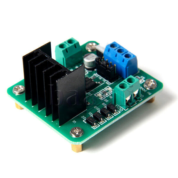 Dual H-Bridge Motor Driver for DC or Steppers