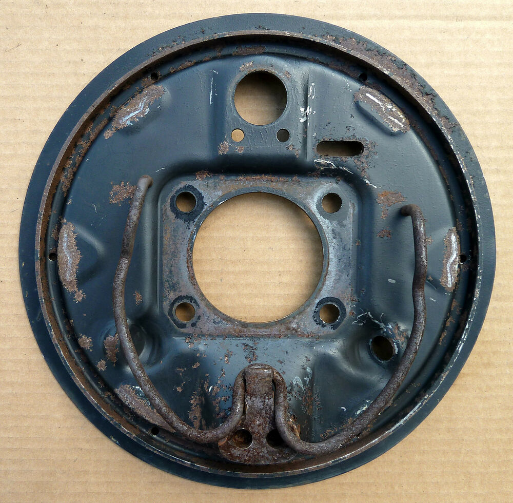 Chevy Truck Brake Backing Plate : Chevrolet chevy lumina van apv rear brake backing plate rh