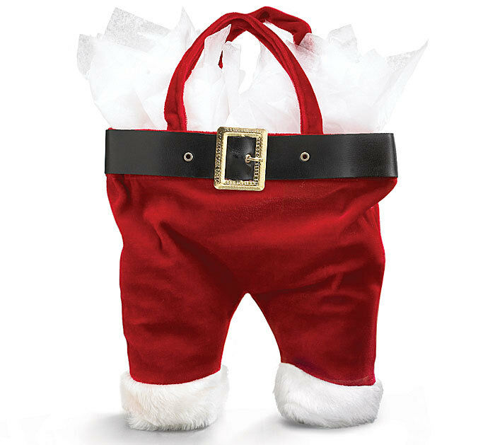 Burton velour santa claus pants christmas gift