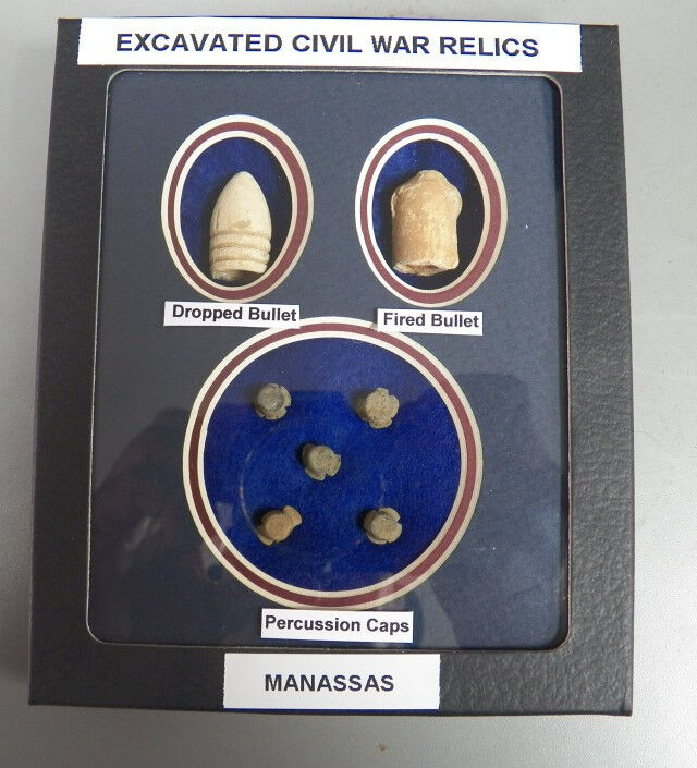 Identified Dug Civil War Relics- Dropped & Fired Bullet
