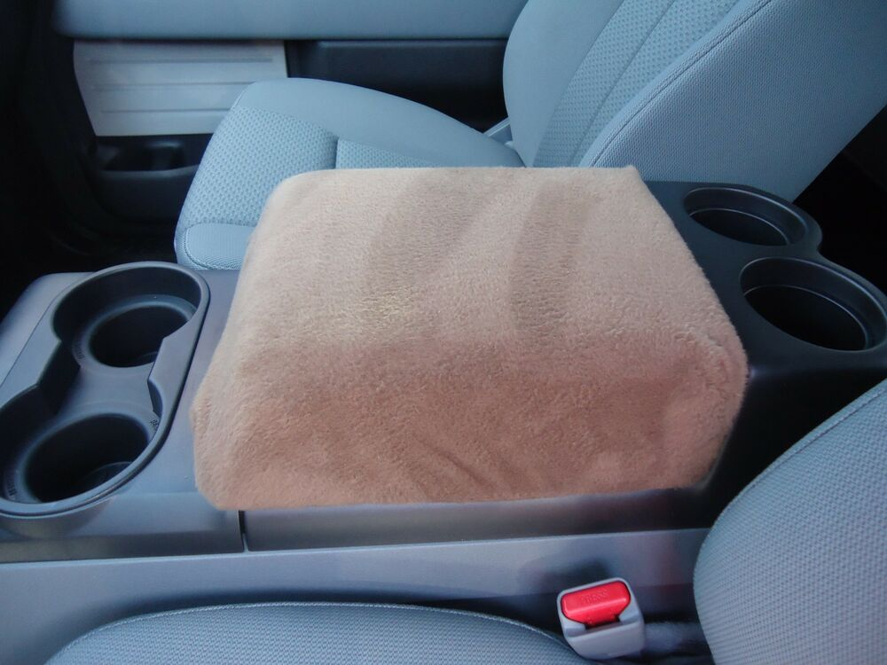 armrest covers for center console center console cover f1 tan ebay. Black Bedroom Furniture Sets. Home Design Ideas